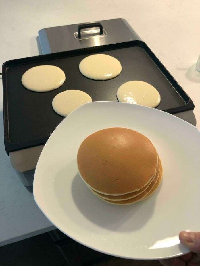 Homemade Pancakes. Perfect Color