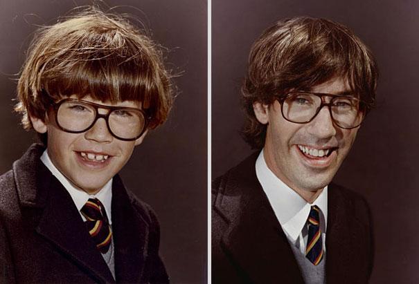back to the future 1 - Fotógrafa Argentina recria foto antiga com a mesma pessoa anos depois