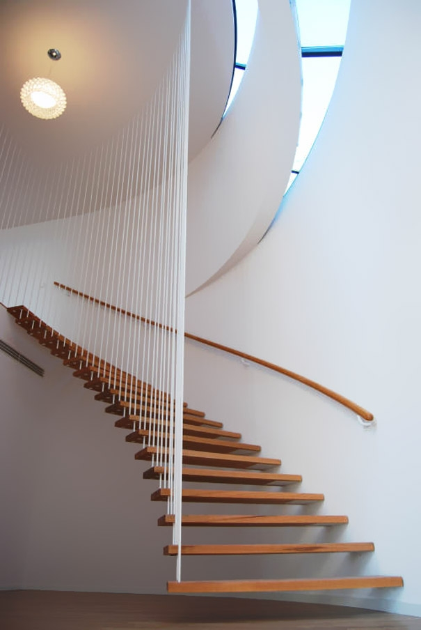 25 Unique And Creative Staircase Designs Bored Panda   Modern Staircase Window Design   Corner   Indian   Stair Case   Fixed Frame   Beautiful