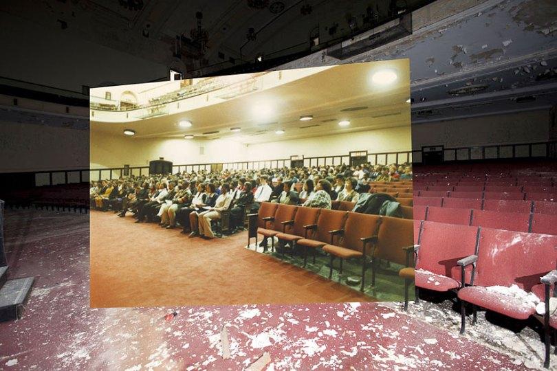 then and now abandoned school in detroit 11 - Fotos de uma escola abandonada em Detroit (antes e depois)