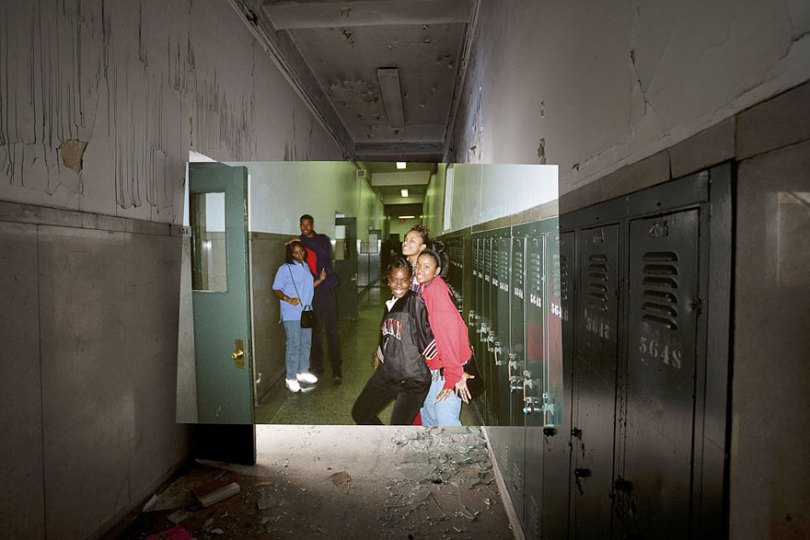 then and now abandoned school in detroit 23 - Fotos de uma escola abandonada em Detroit (antes e depois)
