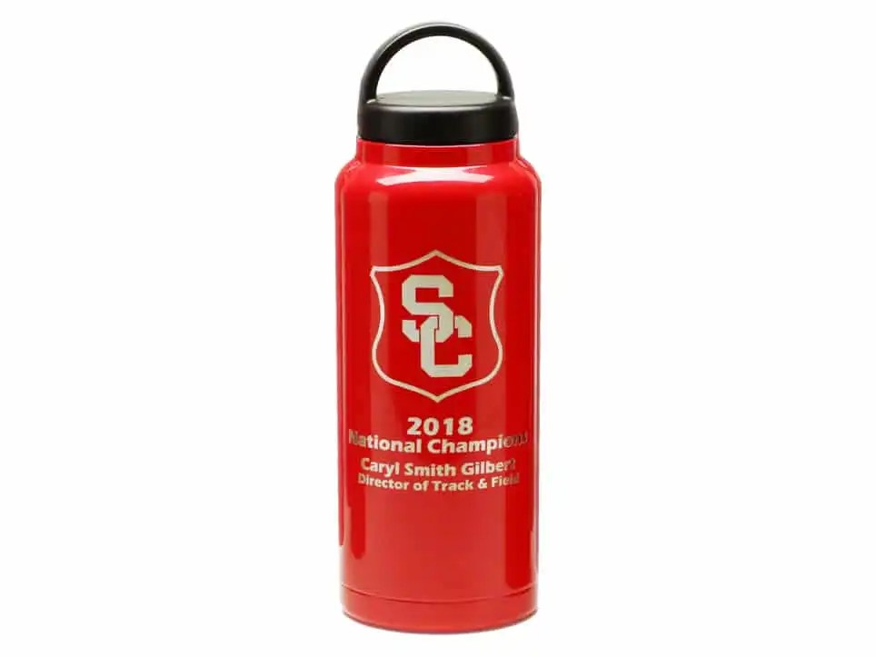 36 oz. Custom RTIC Water Bottle (BottlesAndBatons.com)
