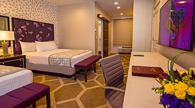 las vegas two bedroom suite orleans