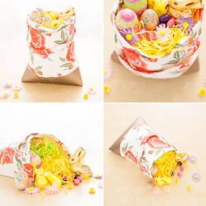 Brit.co's DIY Tote-ally Cute Easter Basket Alternative