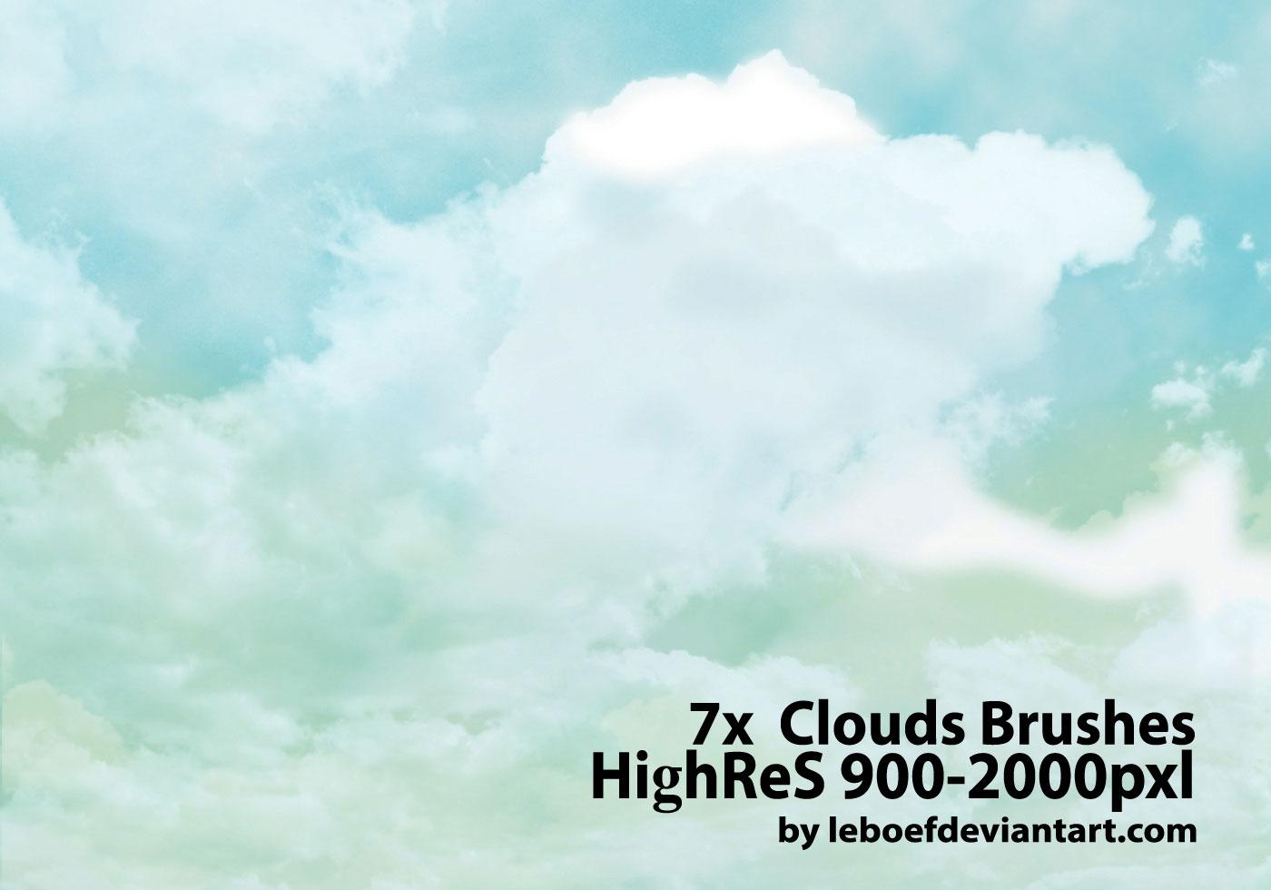 Cloud Photoshop Brushes Free Photoshop Brushes At Brusheezy