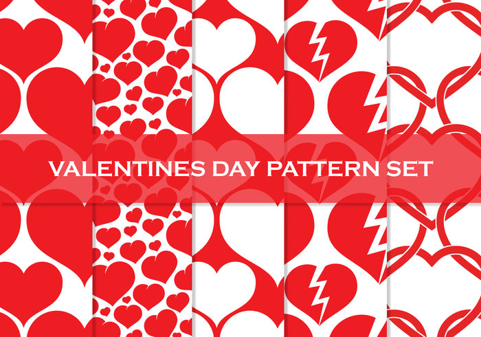 Valentines Day Free Heart High Resolution Patterns