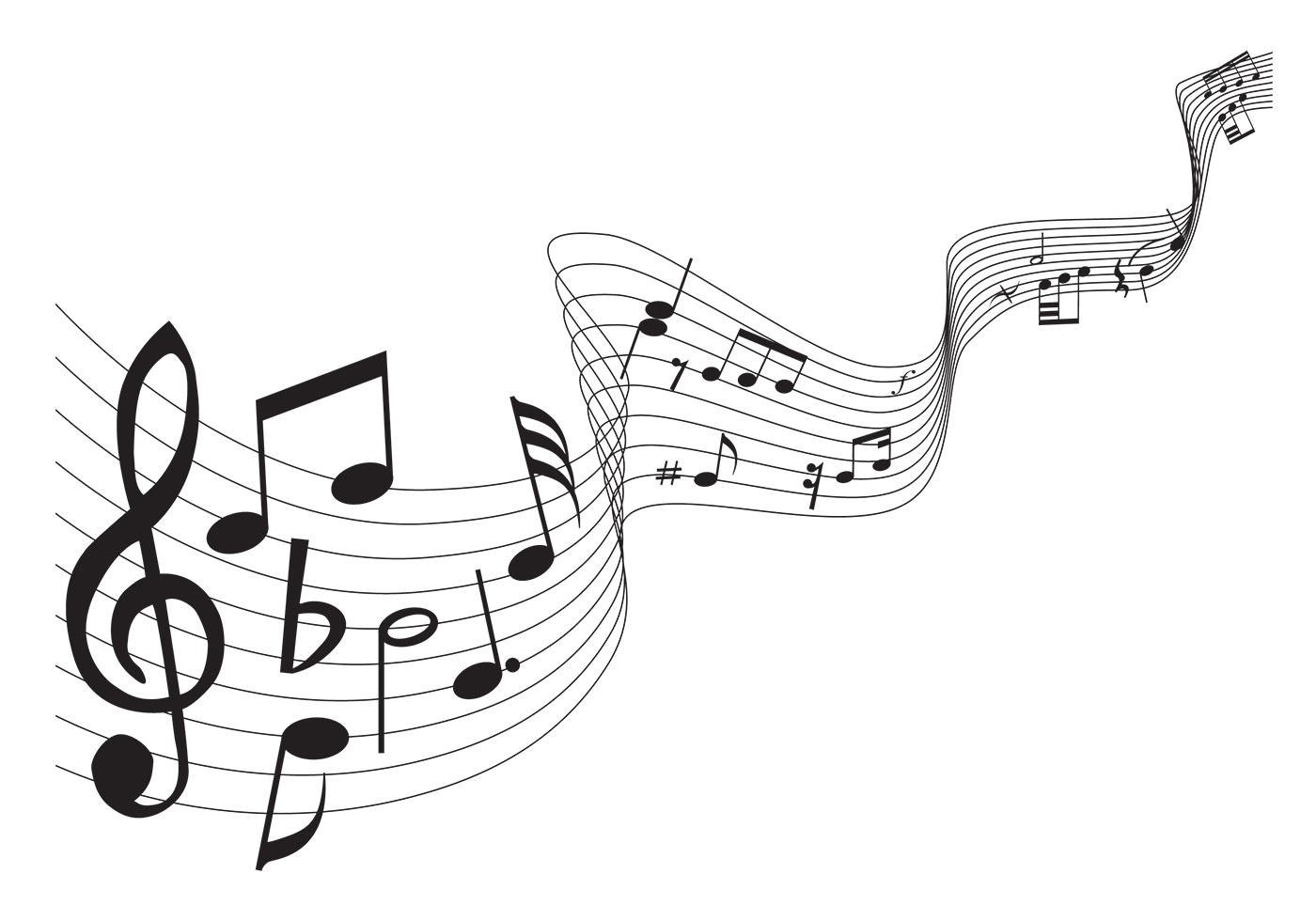 Classical Music Notes Brush Pack