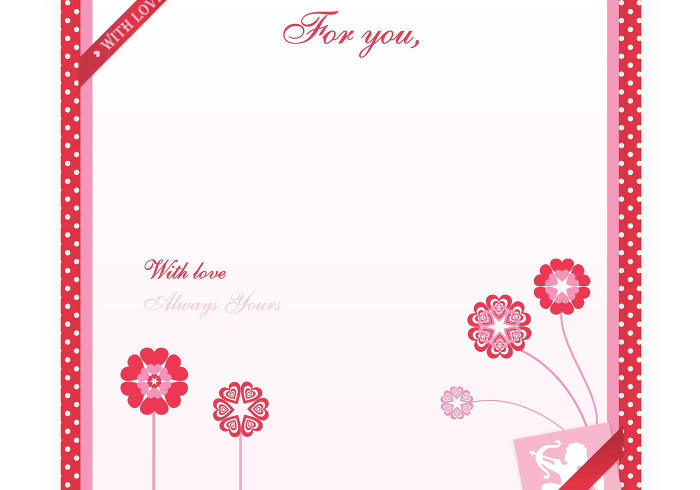 Valentine S Day Love Letter Wallpaper Brush And Pattern