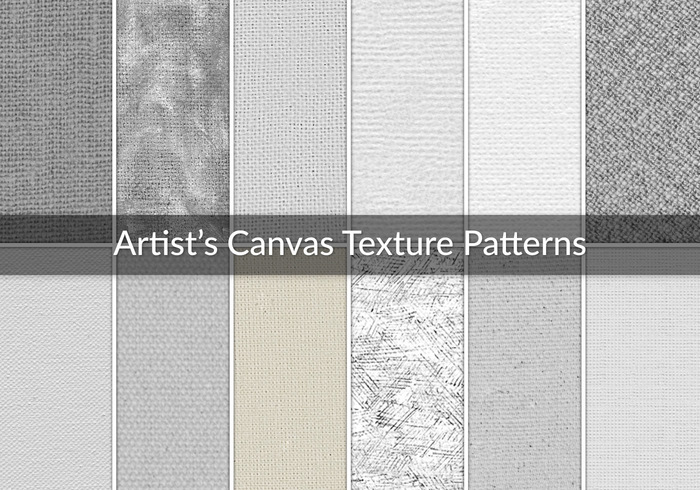12 Artists Canvas Texture Patterns Free Photoshop