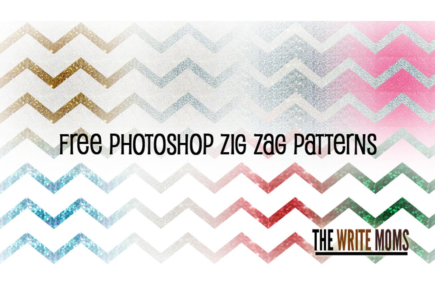 Sparkle Zig Zag Patterns