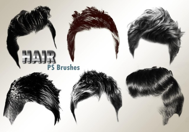 hair style free brushes - (750 free downloads)