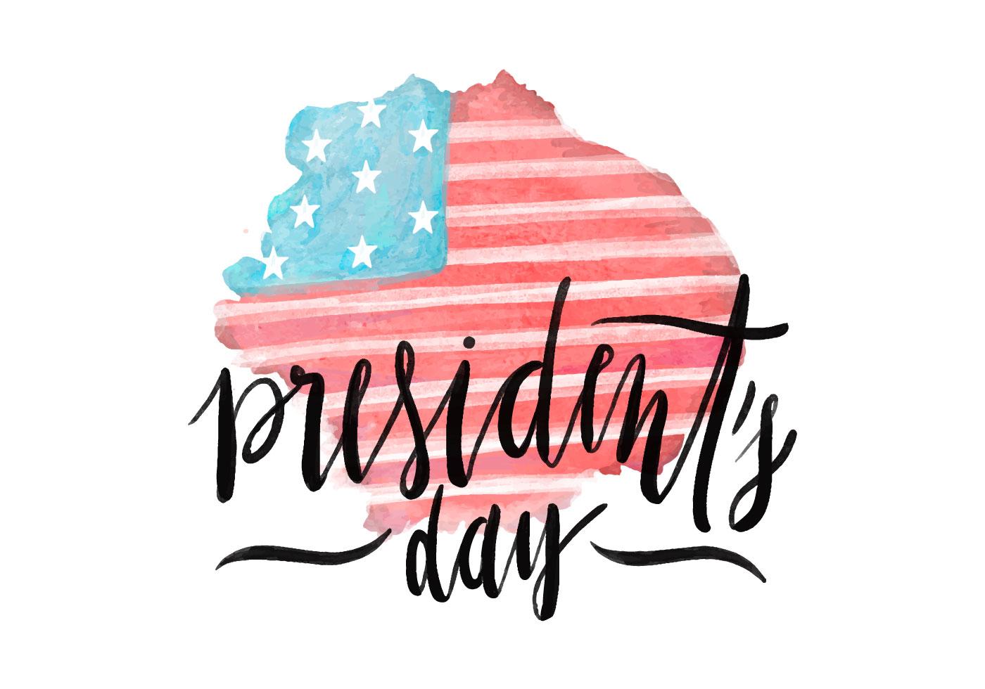 President S Day Flag Psd