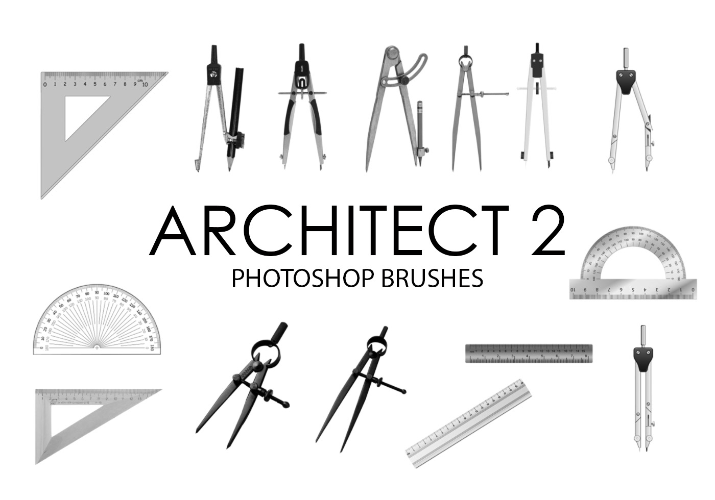 Architect Photoshop Brushes 2