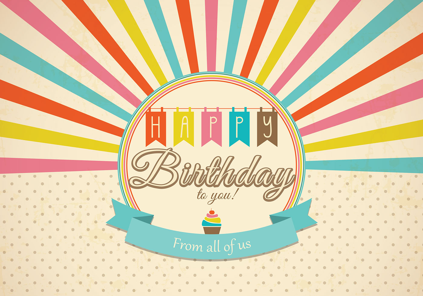 Retro Happy Birthday Card Psd Free Photoshop Brushes At Brusheezy