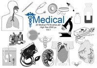 20 Médico PS Brushes.abr Vol.1