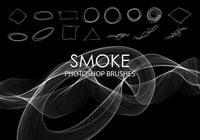 No se permite fumar Resumen Pinceles para Photoshop 4