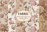 20 Tela floral Brushes.abr Vol.1