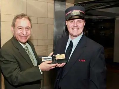 LIRR Conductor Larry Pinkham Jr