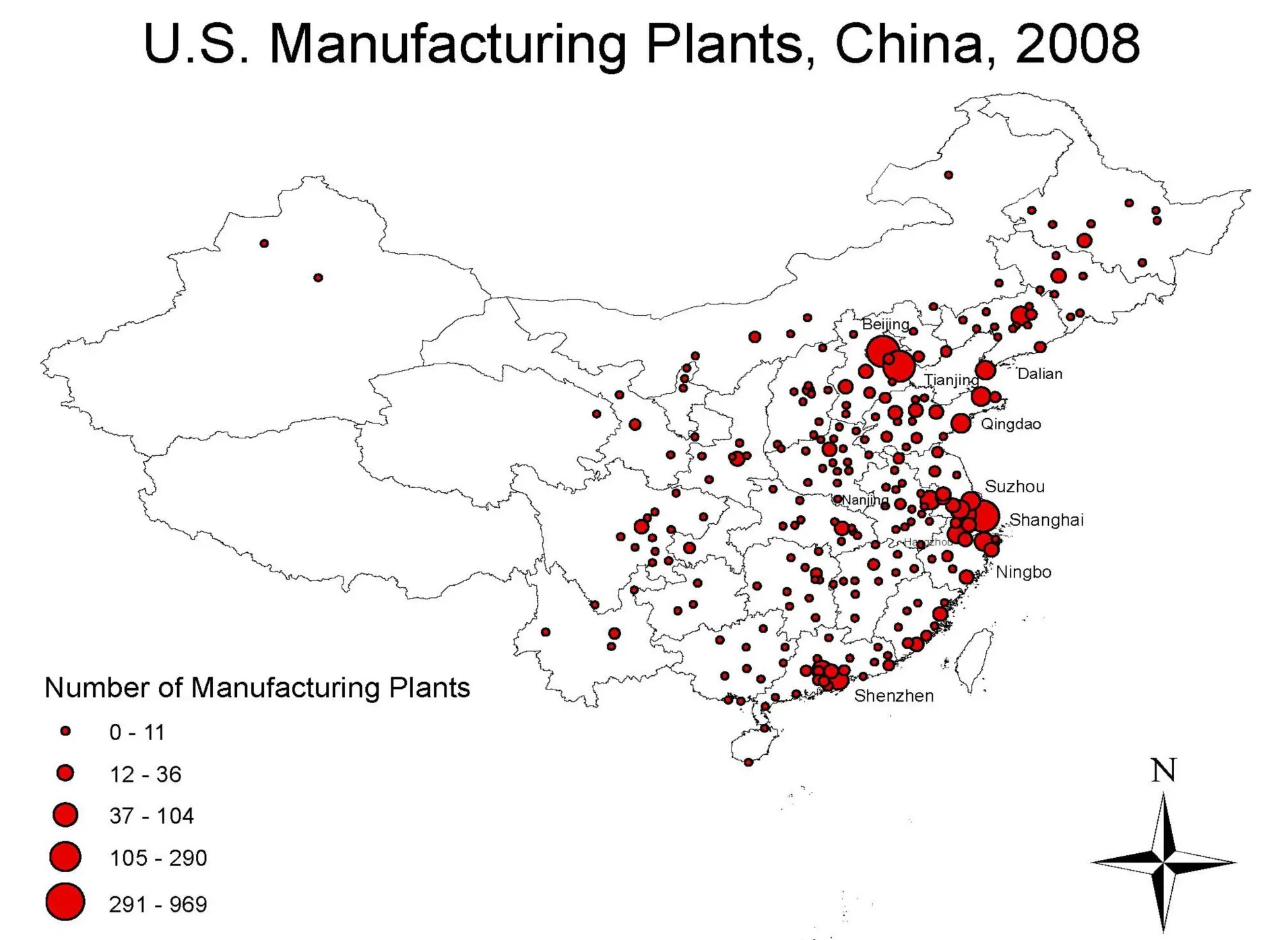 How American Companies Decide Where To Put Their Chinese Factories