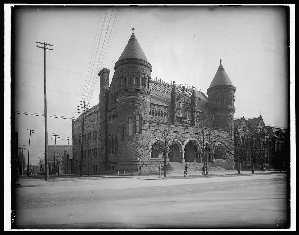 MUSEUM OF ART: Another major attraction in the city was the museum of art, which opened in 1888.