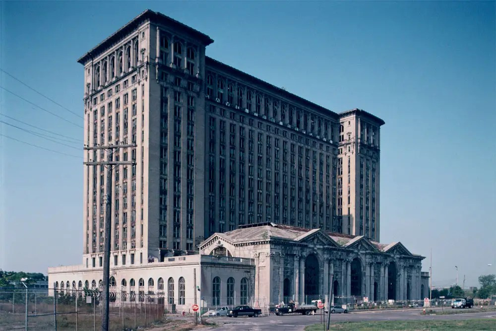 Former Michigan Central Station, 2010