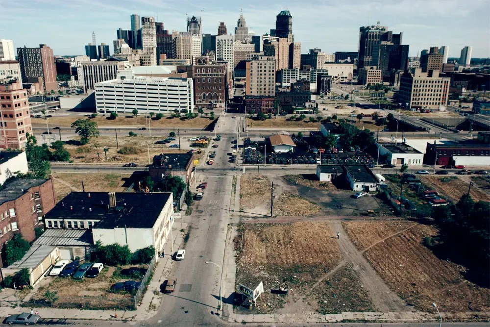 Downtown Detroit, 1991