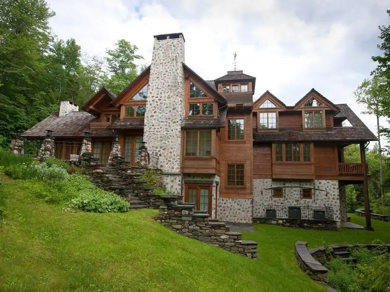 Vermont has a bargain deal for a ski chalet. Rhis Mount Snow home is listed for $5 million.