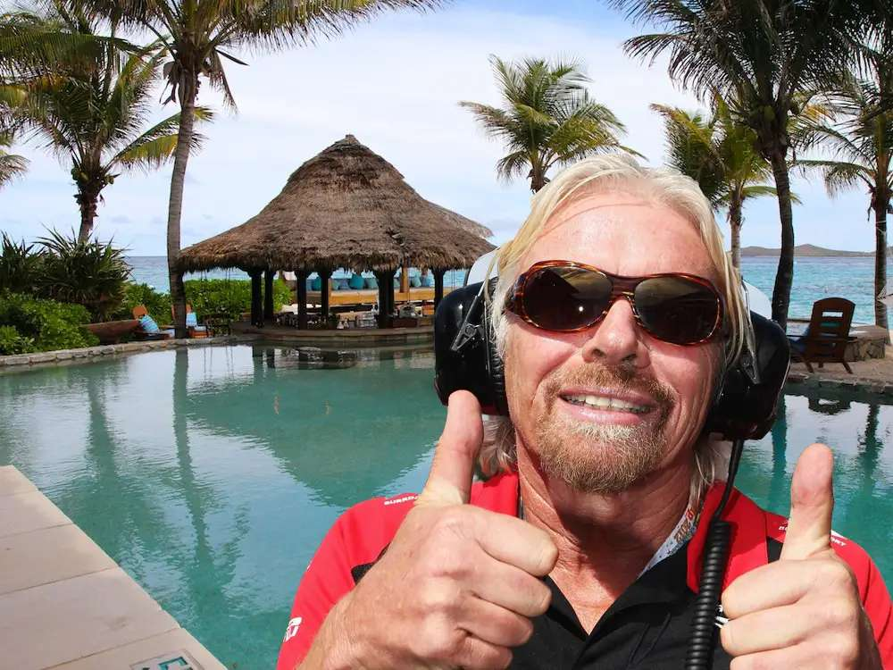 Richard Branson bought Necker Island in the British Virgin Islands, but it only cost him $180,000.