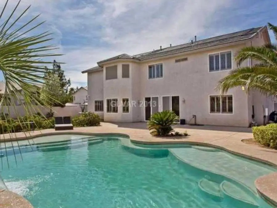 LAS VEGAS, NV: $500,000 gets you a 4,847-square-foot home with five bedrooms and a large pool.