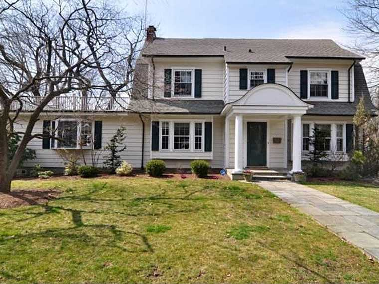 Pelham, N.Y.: $1.05 million will buy a five-bedroom, 2,752-square-foot home with a two-tiered deck and lower patio.