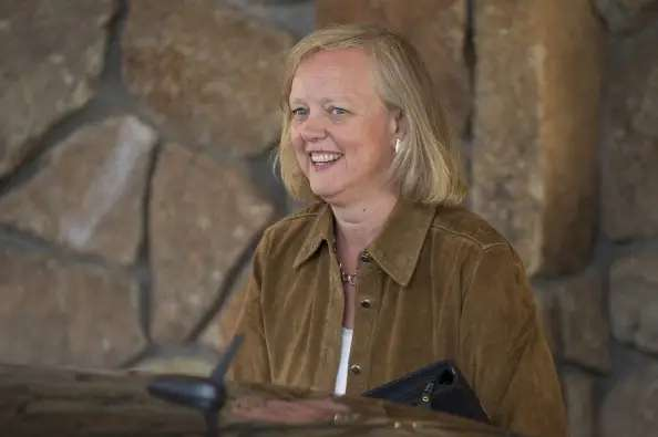HP's Meg Whitman enjoyed the company's many jets