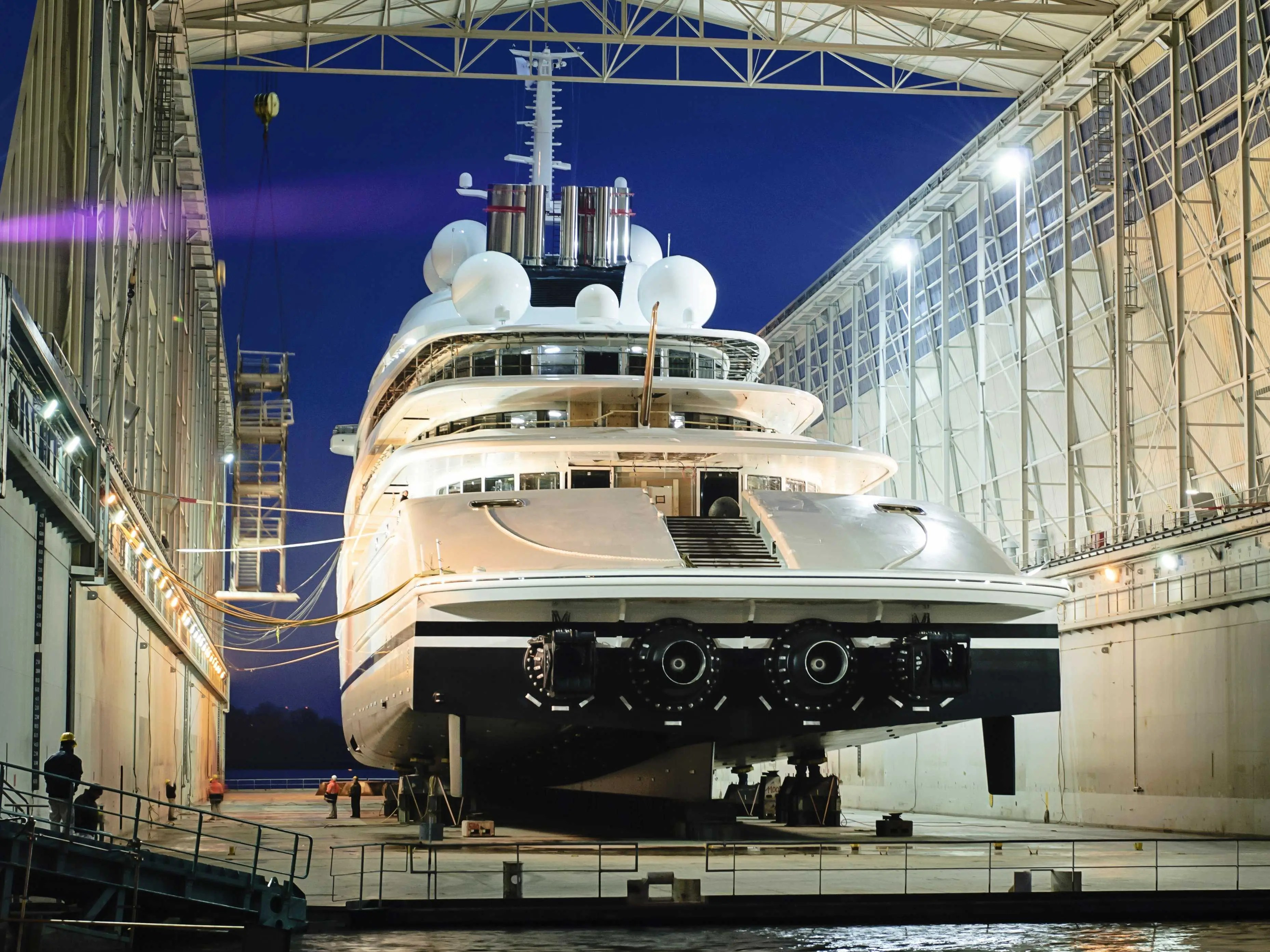 The UAE Presidents New Megayacht Is An Absolute Monster