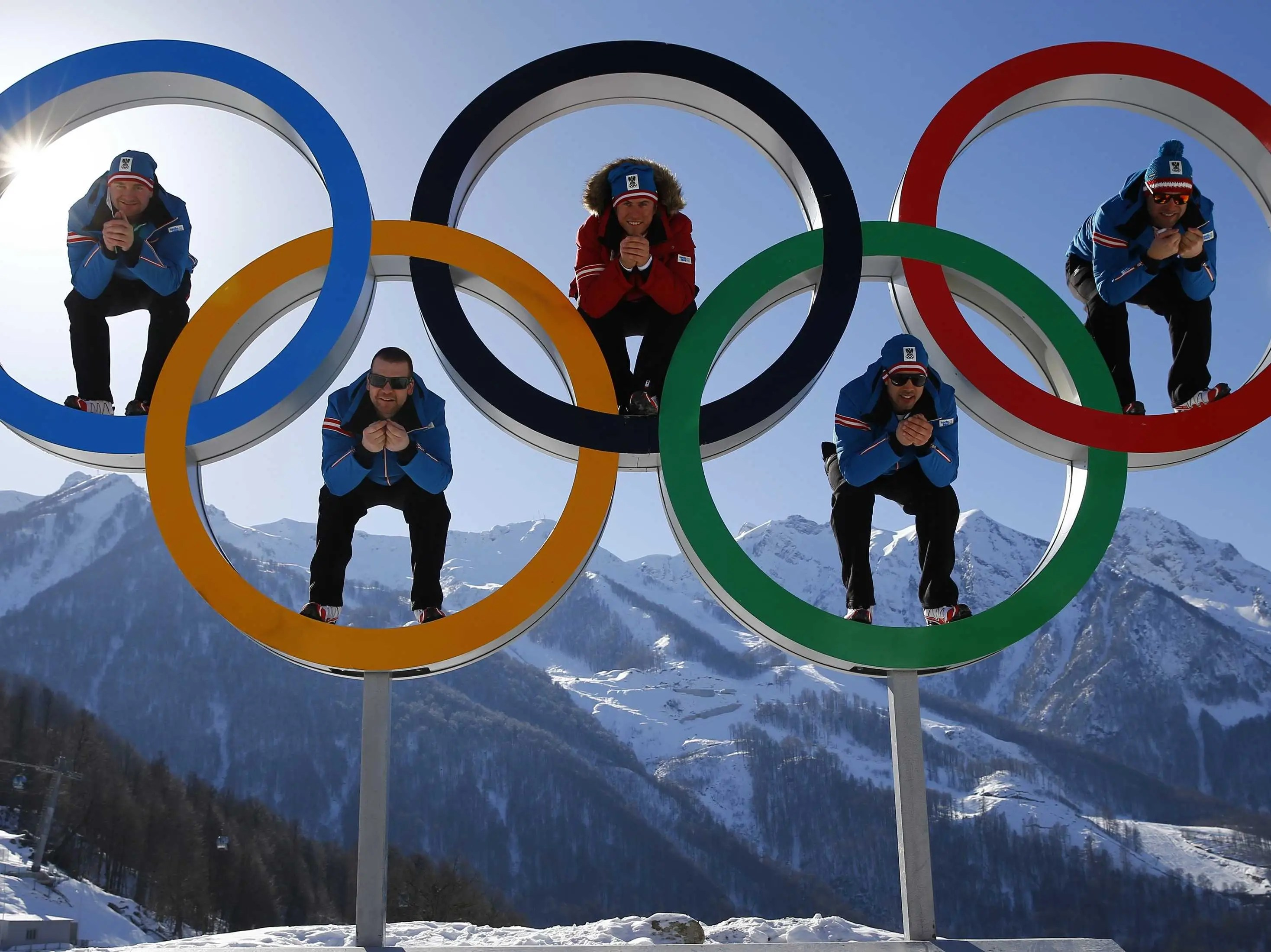 Athletes In Sochi Are Taking Some Cool Photos With The