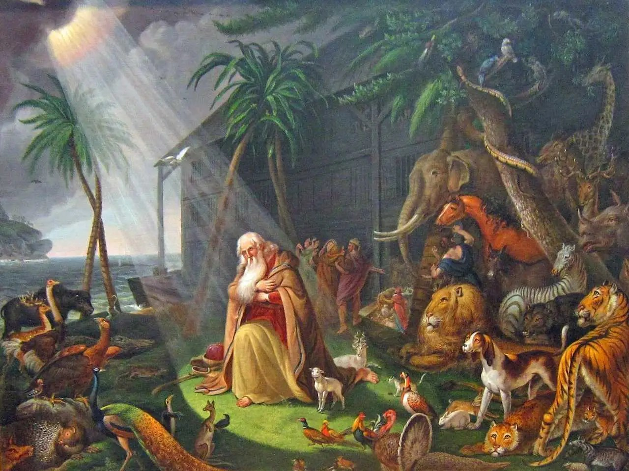 Here S The Story About Noah And The Ark That They Don T