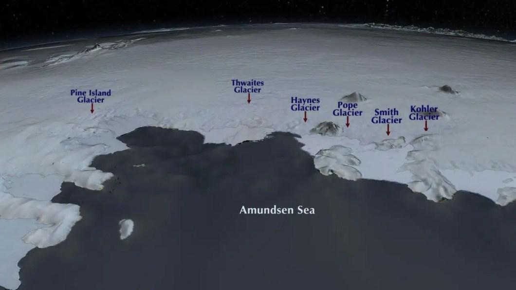 Amundsen sea