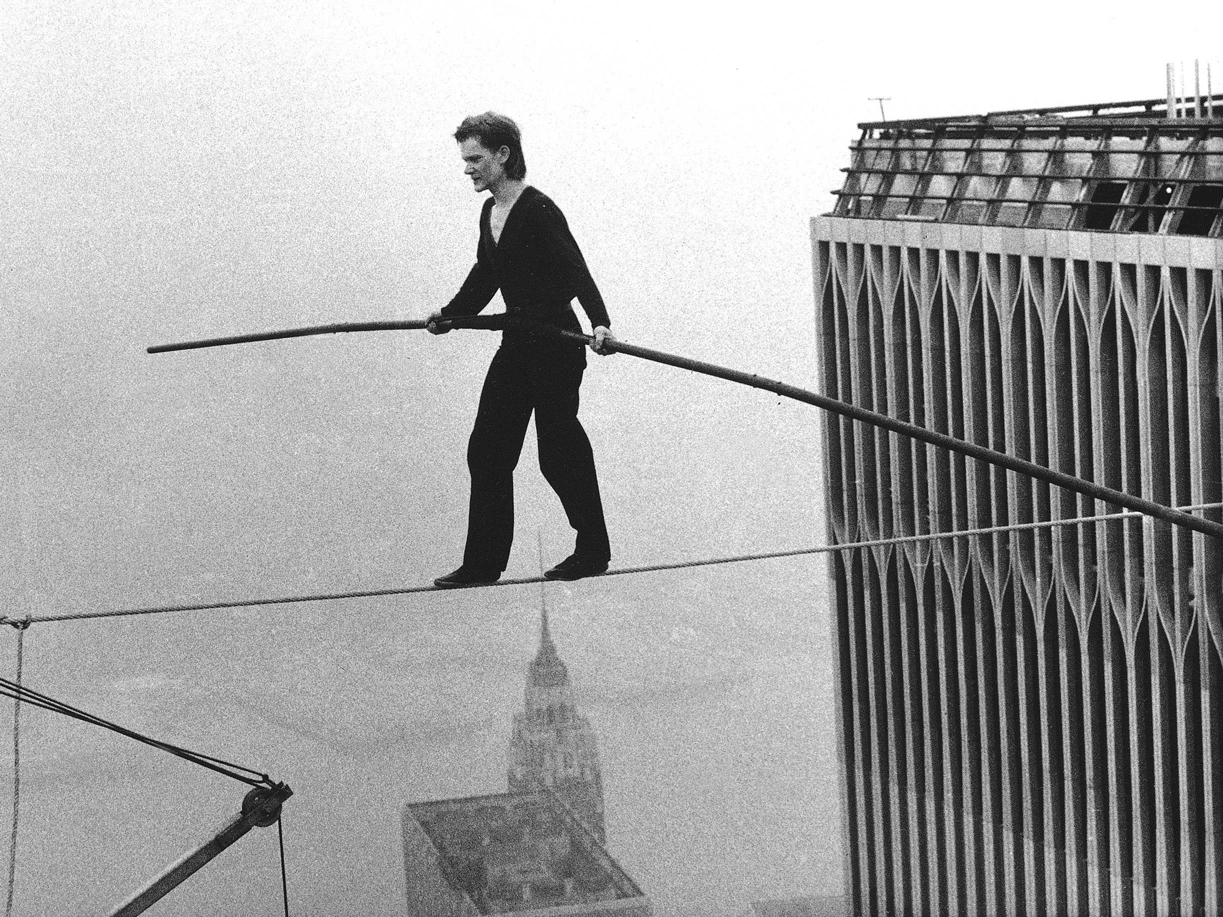 40 Years Ago Today A Frenchman Walked A Tightrope Between