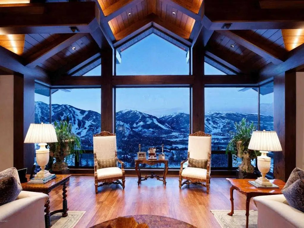 House Of The Day A Mansion On Aspen S Billionaire
