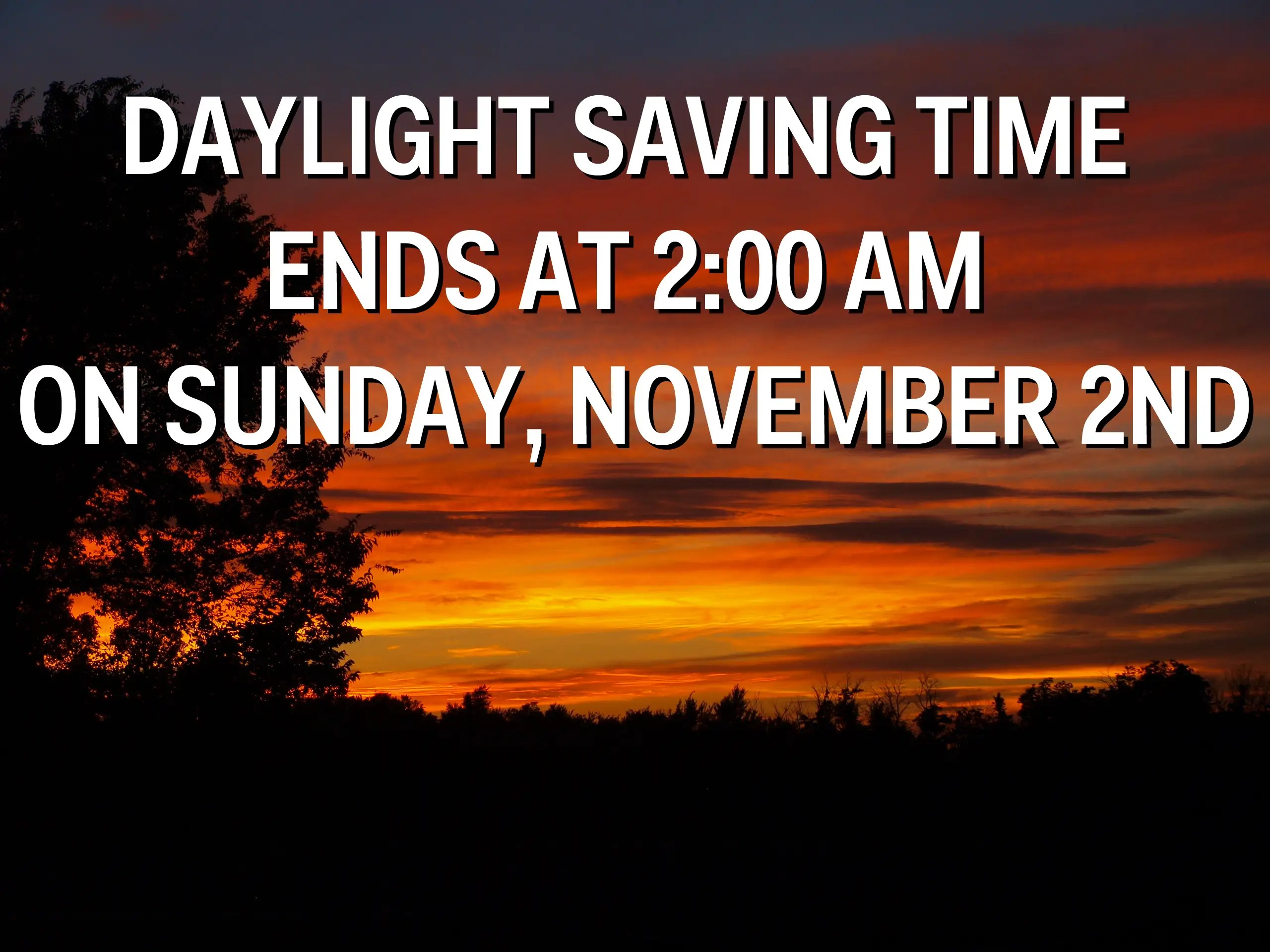 Daylight Saving Time Is Bad For Your Health