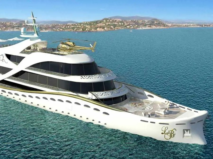See Inside The Worlds First Luxury Yacht Concept Designed