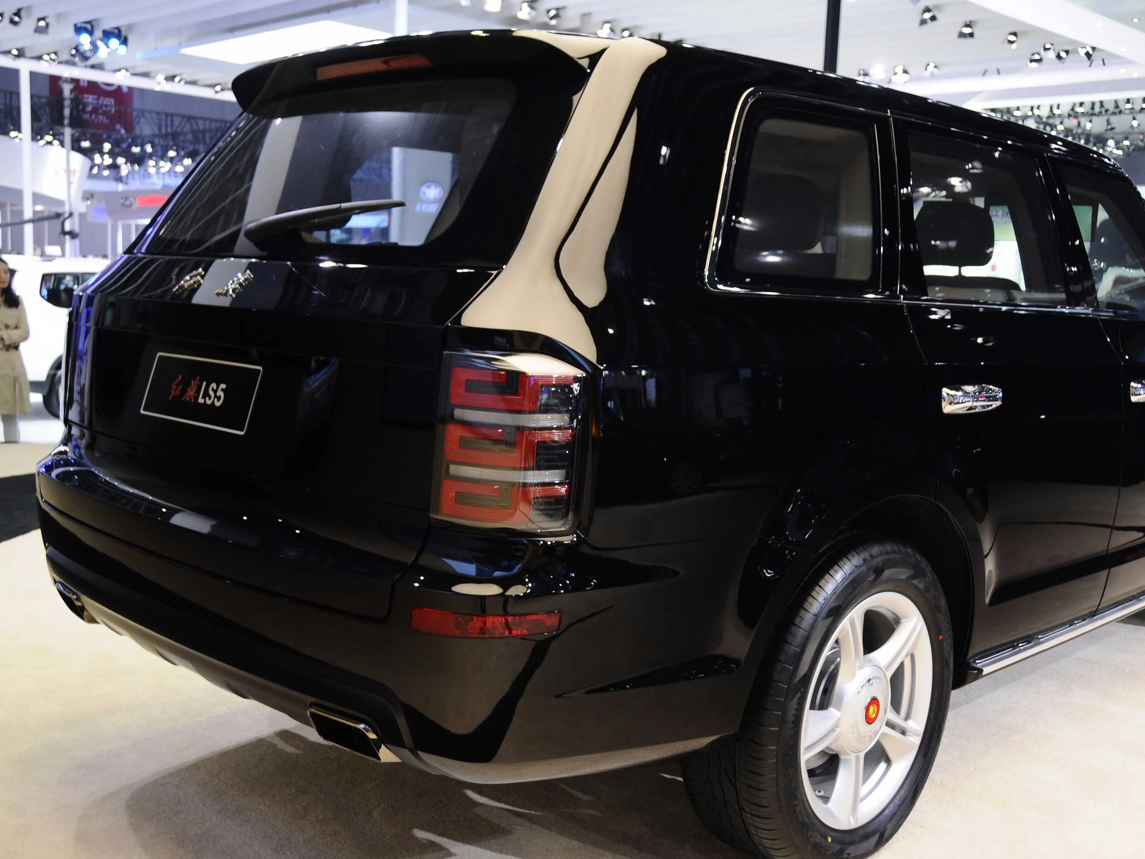 The pany that made Chairman Mao s limo has built an SUV to take