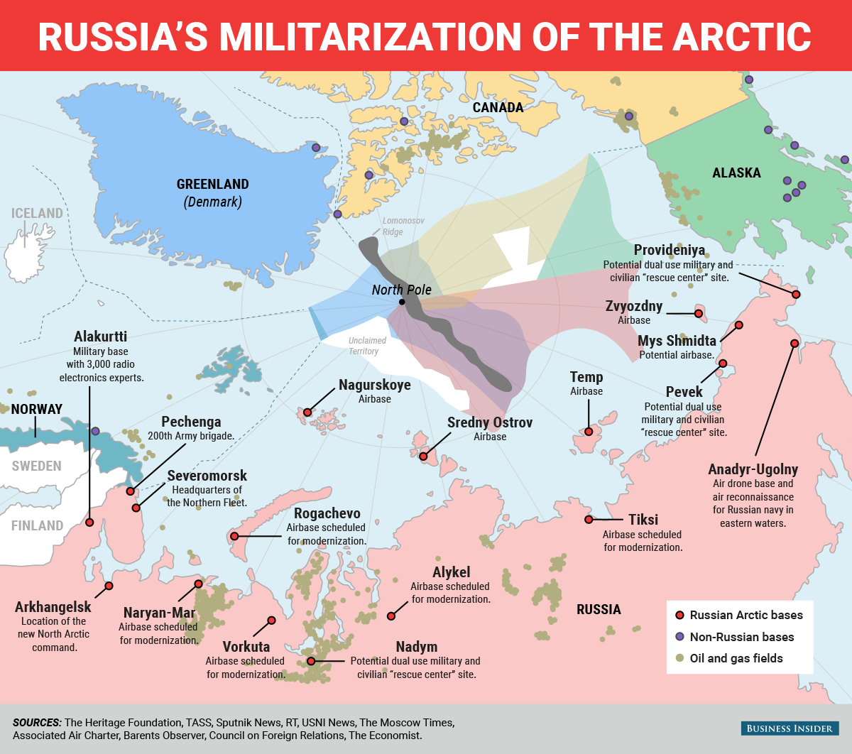Us Admiral Russia S Submarine Activity In The North