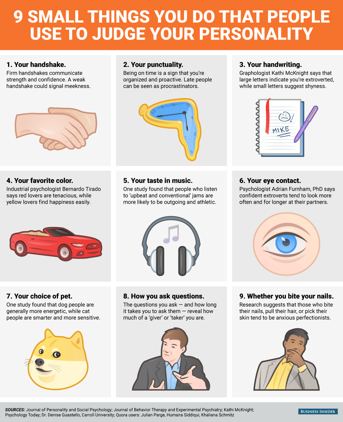 9 Small Things You Do That People Use To Judge Your