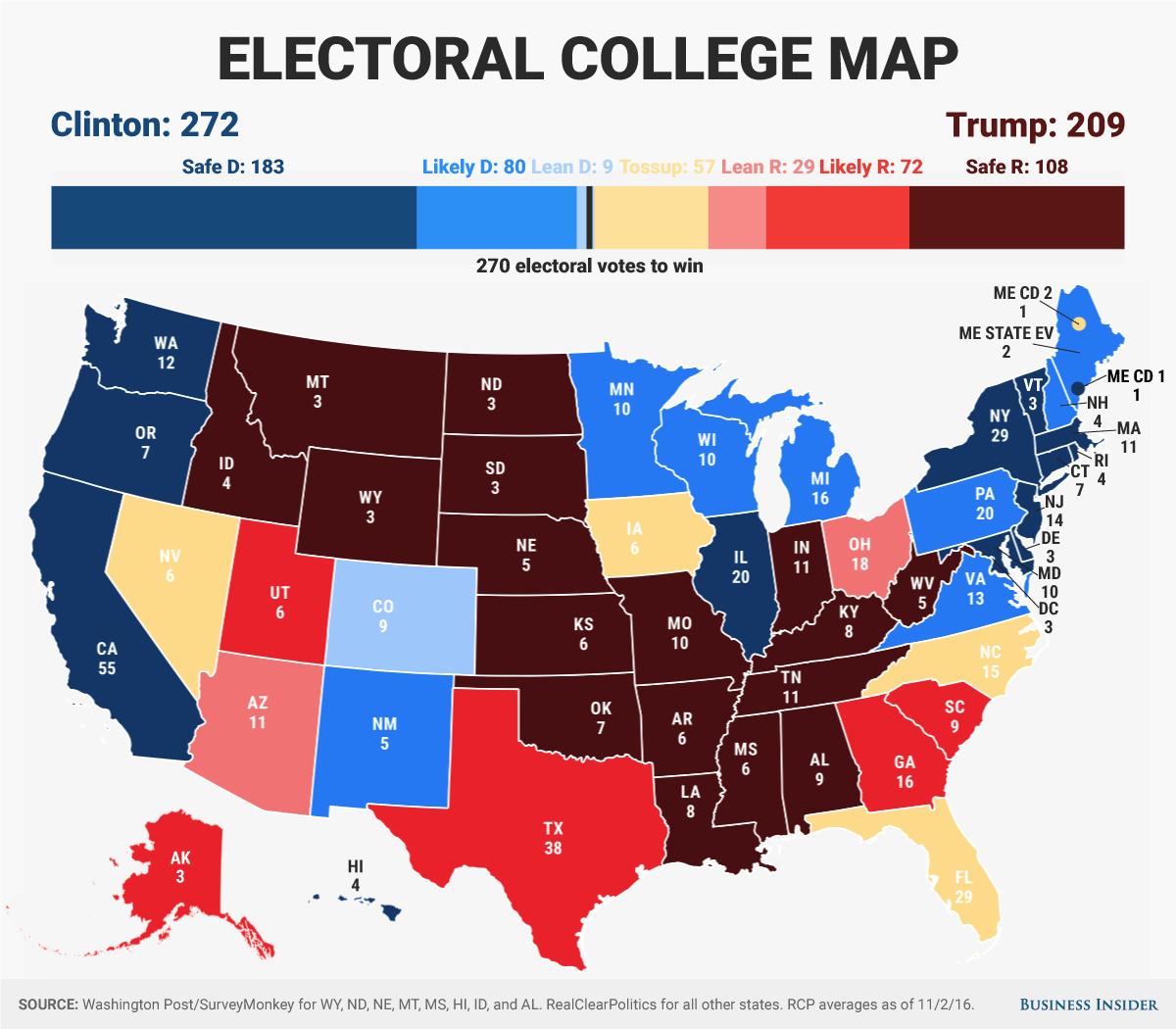 The Us Election Will Go Down To The Wire