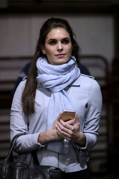 Hope Hicks gets paid a huge salary that's as high as Trump ...