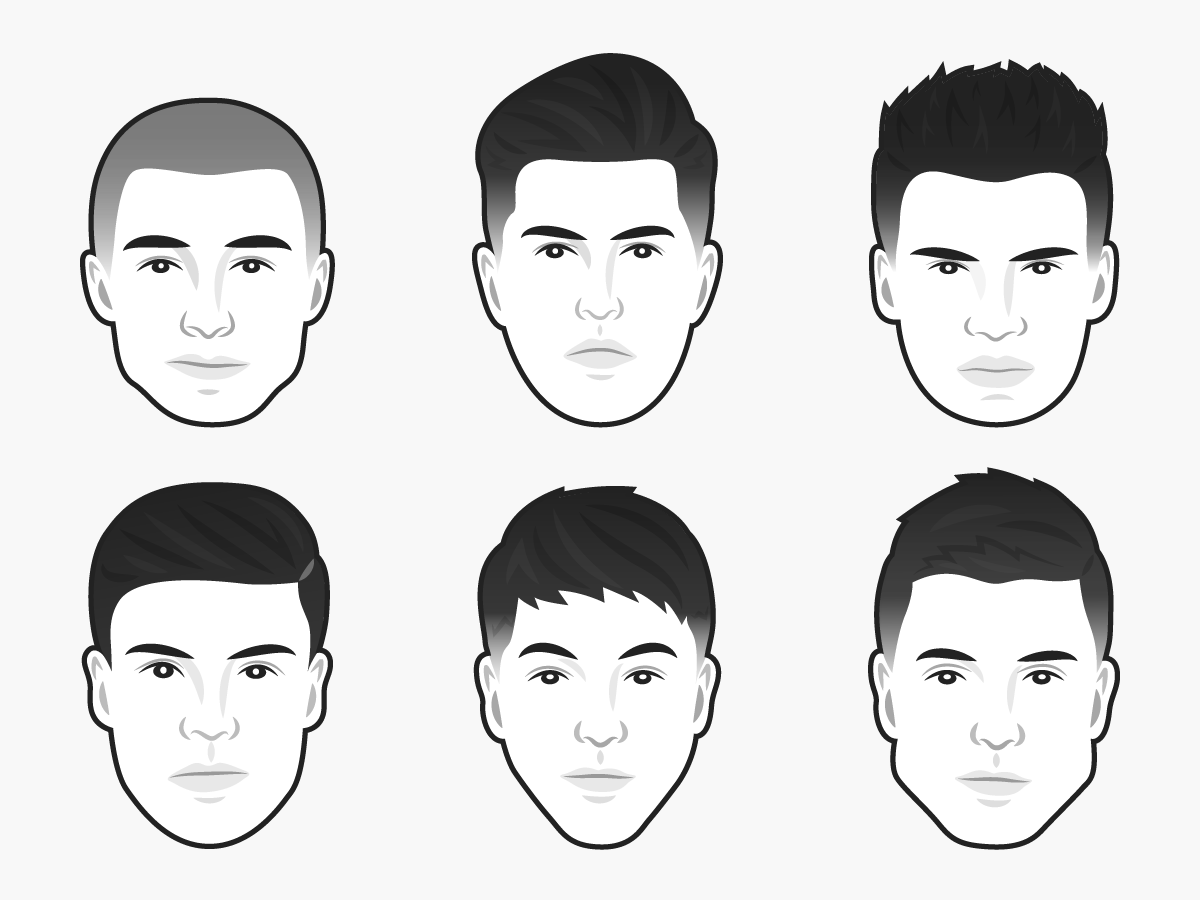 The Best Mens Haircut For Every Face Shape Business Insider
