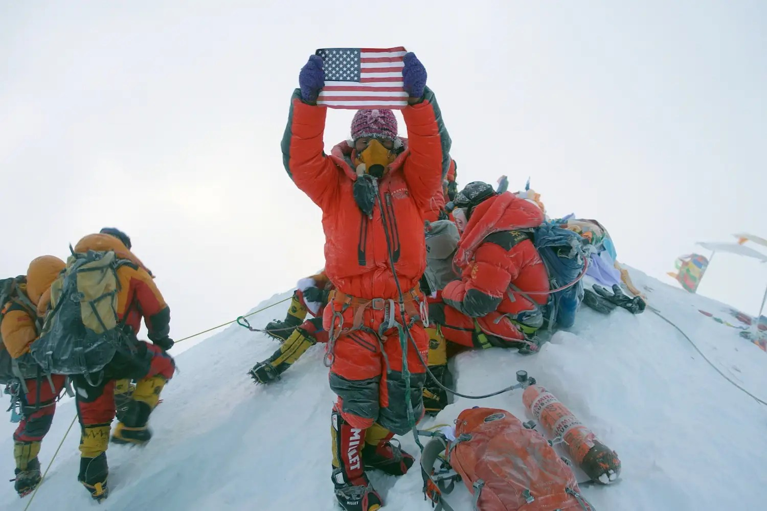 What The Top Of Mount Everest Is Really Like According To