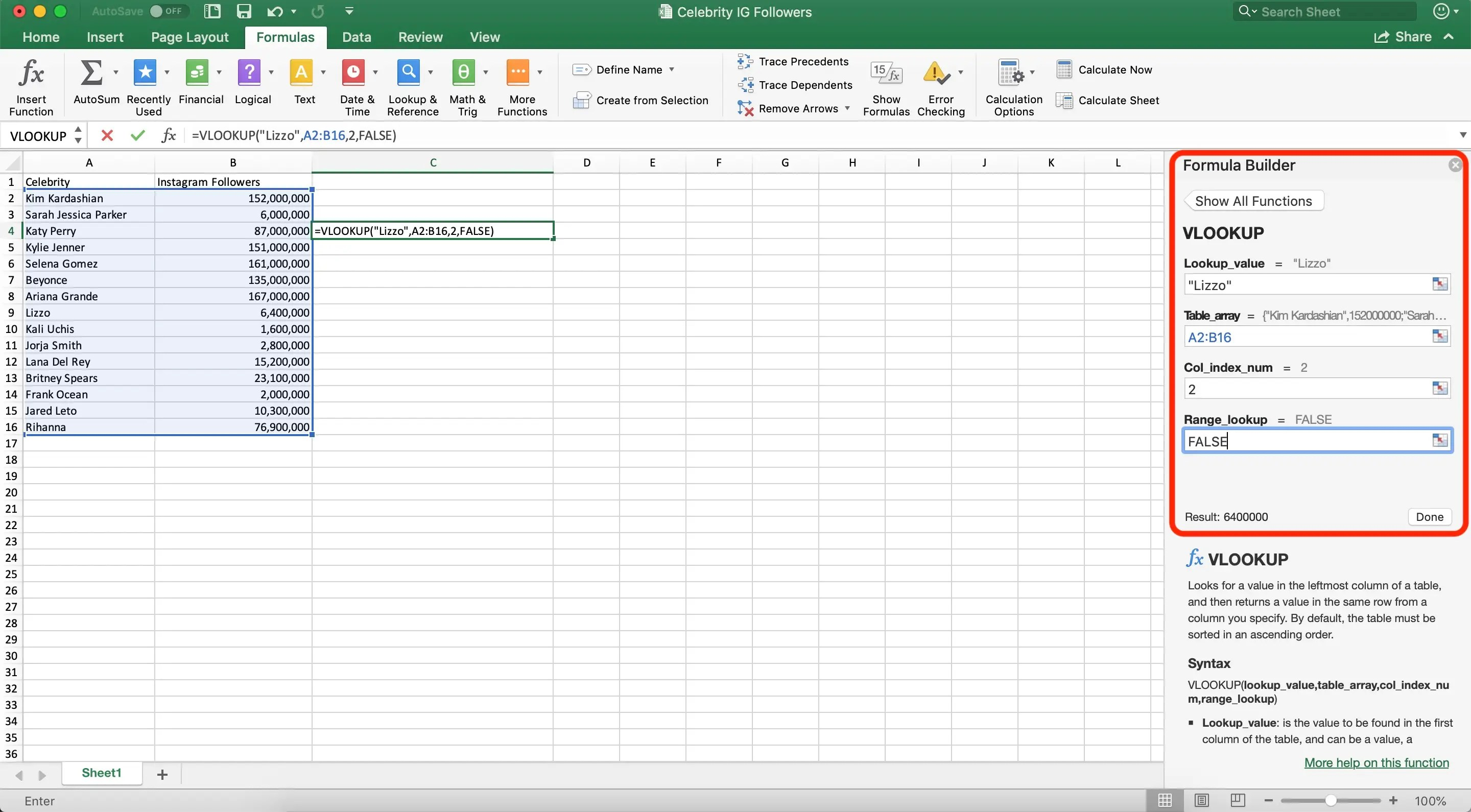 How To Use The Vlookup Function In Microsoft Excel To Find