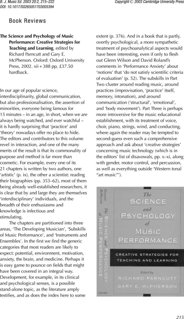 Teaching Music History Edited By Mary Natvig Aldershot Ashgate 2002 Xiii 268 Pp 40 Hardback British Journal Of Music Education Cambridge Core