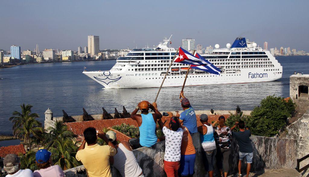 Resultado de imagen para cruceros norteamericanos llegan a cuba imagenes