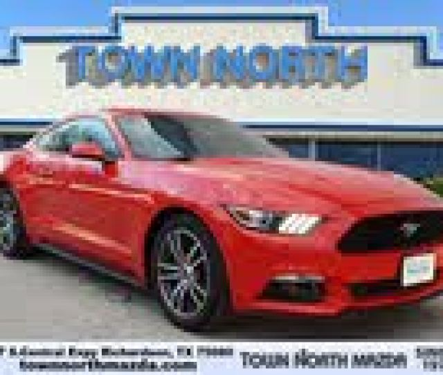 Ford Mustang Ecoboost Premium Used Cars In Richardson Tx